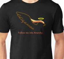 Follow Bird Jesus into Anarchy Unisex T-Shirt