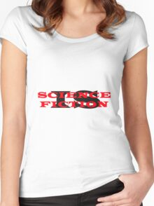 Science Is Fiction Women's Fitted Scoop T-Shirt