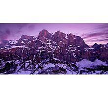 Leukerbad Sunset Photographic Print