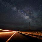 Milky Way and a Speeding Car by B Spencer