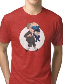The Ventriloquist makes Scarface dance Tri-blend T-Shirt