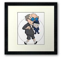 The Ventriloquist makes Scarface dance Framed Print