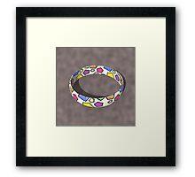 Poly Ring  Framed Print