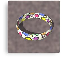 Poly Ring  Canvas Print