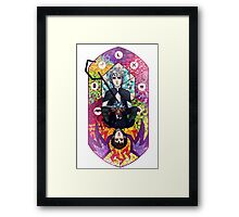 Stained Glass - Hijack Framed Print