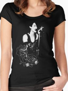 Rozz Women's Fitted Scoop T-Shirt