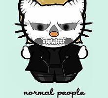 American Horror Kitty by LVBART