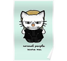 American Horror Kitty Poster