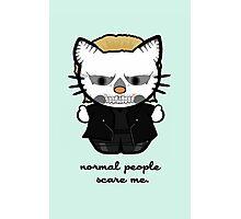 American Horror Kitty Photographic Print
