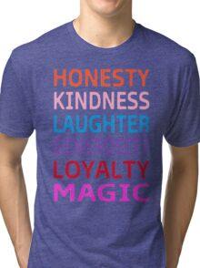 MLP-My Little Pony Elements  Tri-blend T-Shirt