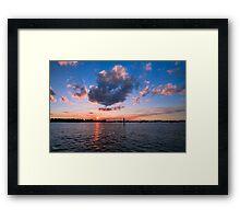 peaceful Florida Framed Print