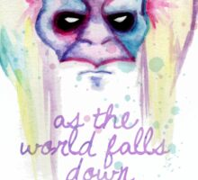 The Goblin King Sticker