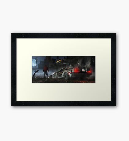 Lost Framed Print