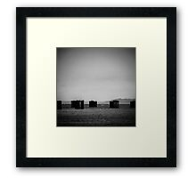 Storm-Front, Water Photography Framed Print