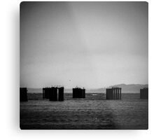 Storm-Front, Water Photography Metal Print