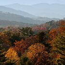 Autumn in the Smoky Mountains.  by barnsis