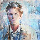 Castiel in Chalk Pastel by Kirby Burt