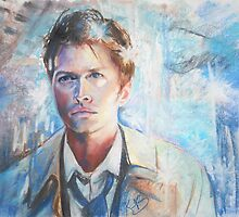 Castiel in Chalk Pastel by Kirby Burt