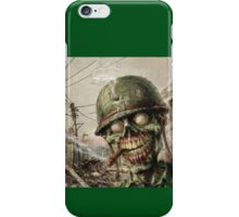 Army Zombie iPhone Case/Skin