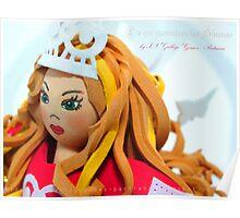 Princesa Eholja. Colección Princesas de lo que encuentran las Sirenas Poster