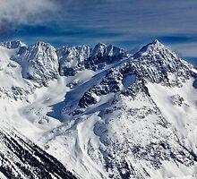 Mountains in Garibaldi Provincial Park by Charles Kosina