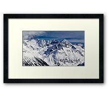 Mountains in Garibaldi Provincial Park Framed Print