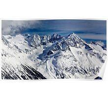 Mountains in Garibaldi Provincial Park Poster