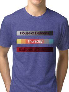 Weeknd Albums Tri-blend T-Shirt