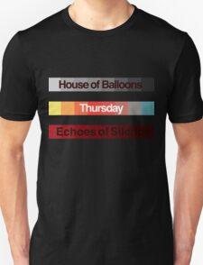 Weeknd Albums Unisex T-Shirt
