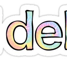 Tri Delta Tie Dye Sticker