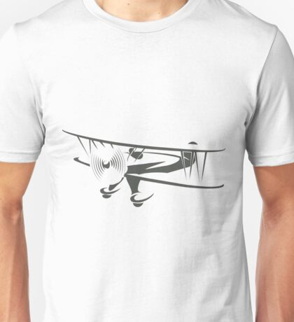 Retro Airplane Emblem  Unisex T-Shirt