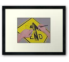 Onward Framed Print