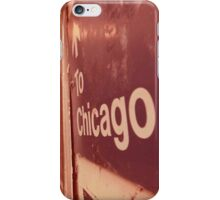 to chicago iPhone Case/Skin