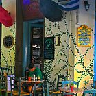 Sidewalk Cafe, Athens, Greece by Barbara  Brown