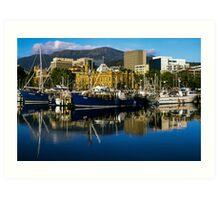 Victoria Dock, Hobart Art Print