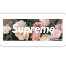 Supreme Floral Logo Box Sticker