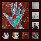 Paint My Hand 1 by LESLEY B