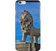Thames Lion iPhone Case/Skin