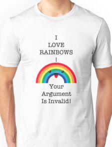 I <3 Rainbow - Invalid Unisex T-Shirt