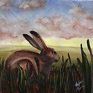 Summer Hare by resonanteye