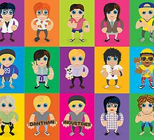 Lil' Lilley All Characters  by LilLilleys