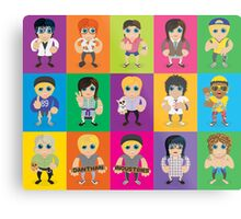 Lil' Lilley All Characters  Metal Print
