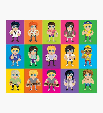 Lil' Lilley All Characters  Photographic Print