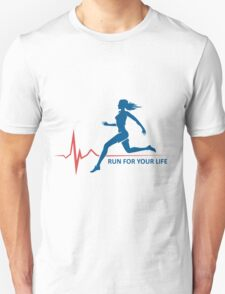 Healthy Run Emblem T-Shirt