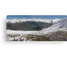 Helicopter High ( 2 ) The Harris Mts from Mt.Alta Metal Print