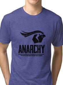 Anarchy (Black Text) Tri-blend T-Shirt