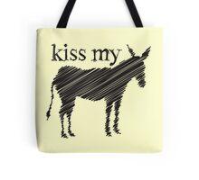 KISS my Ass (Donkey) Tote Bag