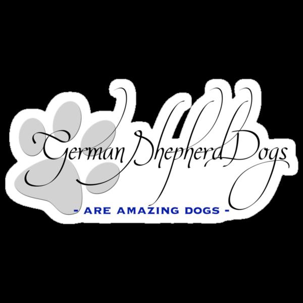 German Shepherd Dogs - Amazing Dogs by Helen Green