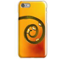 Tangerine Curl iPhone Case/Skin