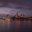 London Lights by Ursula Rodgers